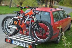 Okolí bikeparku Monínec